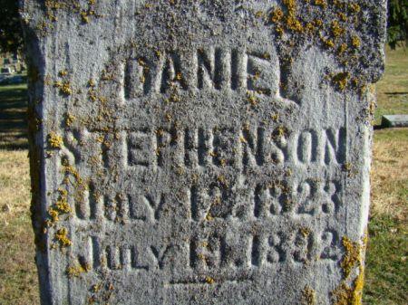 STEPHENSON, DANIEL - Jefferson County, Iowa   DANIEL STEPHENSON