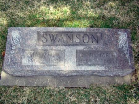 SWANSON, MAYME LILLIAN - Jefferson County, Iowa | MAYME LILLIAN SWANSON