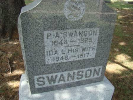 COLESON SWANSON, IDA LOUISA - Jefferson County, Iowa   IDA LOUISA COLESON SWANSON