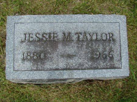 MINNELEY TAYLOR, JESSIE I - Jefferson County, Iowa   JESSIE I MINNELEY TAYLOR