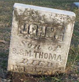 THOMA, JOHN - Jefferson County, Iowa | JOHN THOMA