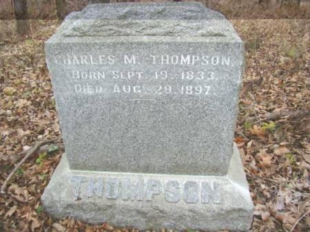 THOMPSON, CHARLES M - Jefferson County, Iowa   CHARLES M THOMPSON