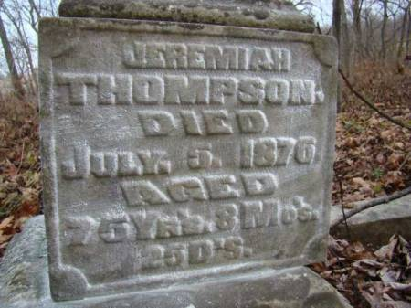 THOMPSON, JEREMIAH - Jefferson County, Iowa | JEREMIAH THOMPSON