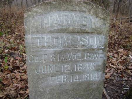 THOMPSON, LEWIS HARVEY - Jefferson County, Iowa | LEWIS HARVEY THOMPSON