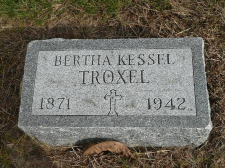 TROXEL, BERTHA - Jefferson County, Iowa | BERTHA TROXEL