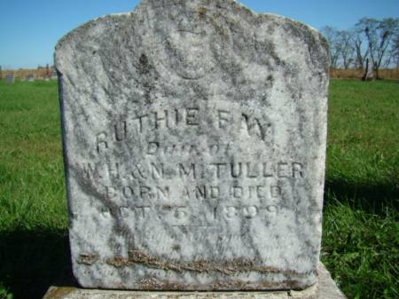 TULLER, RUTHIE FAY - Jefferson County, Iowa | RUTHIE FAY TULLER