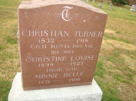 CARLSON TURNER, CHRISTINE LOUISE - Jefferson County, Iowa | CHRISTINE LOUISE CARLSON TURNER