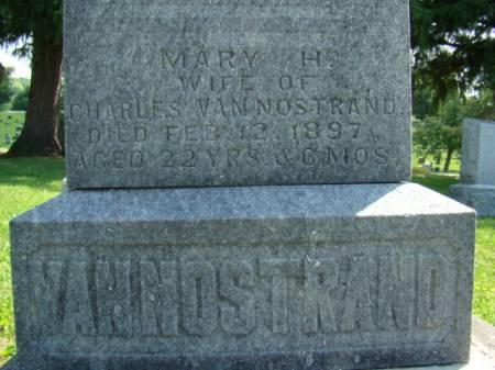 VAN NOSTRAND, MARY H - Jefferson County, Iowa | MARY H VAN NOSTRAND