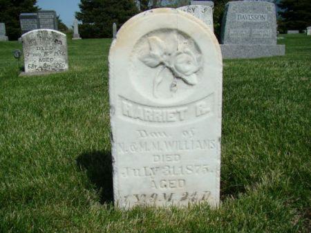 WILLIAMS, HARRIET R - Jefferson County, Iowa | HARRIET R WILLIAMS