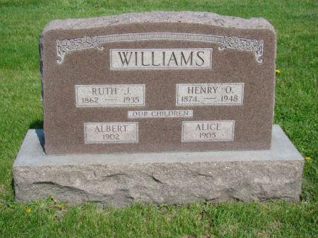 HOSKINS WILLIAMS, RUTH J - Jefferson County, Iowa | RUTH J HOSKINS WILLIAMS