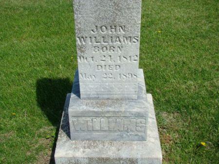WILLIAMS, JOHN - Jefferson County, Iowa | JOHN WILLIAMS