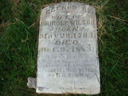 WALKER WILSON, ELENOR B - Jefferson County, Iowa | ELENOR B WALKER WILSON