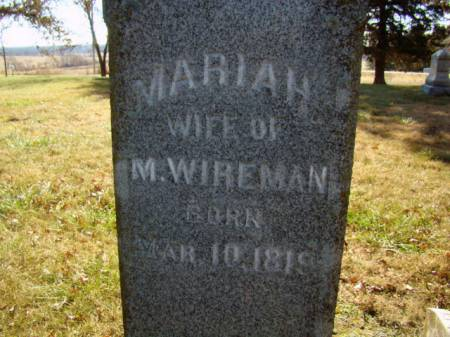 KENNEDY WIREMAN, MARIAH - Jefferson County, Iowa | MARIAH KENNEDY WIREMAN