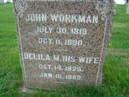 WORKMAN, JOHN - Jefferson County, Iowa   JOHN WORKMAN