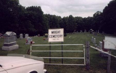 WRIGHT, CEMETERY - Jefferson County, Iowa | CEMETERY WRIGHT