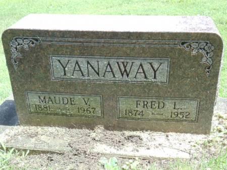 DUKE YANAWAY, MAUDE V - Jefferson County, Iowa | MAUDE V DUKE YANAWAY