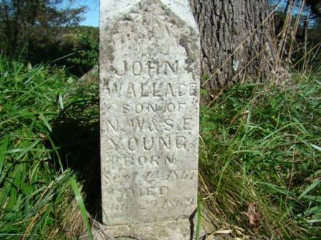 YOUNG, JOHN WALLACE - Jefferson County, Iowa   JOHN WALLACE YOUNG