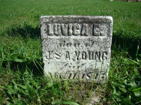 YOUNG, LOVISA E - Jefferson County, Iowa | LOVISA E YOUNG