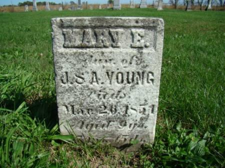 YOUNG, MARY E - Jefferson County, Iowa | MARY E YOUNG