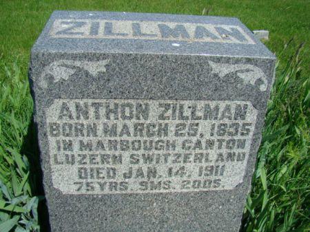 ZILLMAN, ANTHON - Jefferson County, Iowa | ANTHON ZILLMAN