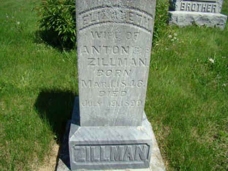 OMER ZILLMAN, ELIZABETH - Jefferson County, Iowa | ELIZABETH OMER ZILLMAN