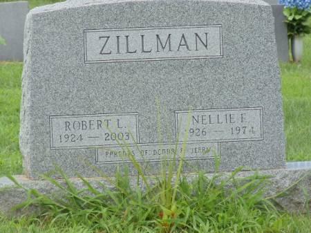 PAGE ZILLMAN, NELLIE E - Jefferson County, Iowa | NELLIE E PAGE ZILLMAN