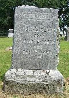 BLACK, ELIZA - Jefferson County, Iowa | ELIZA BLACK