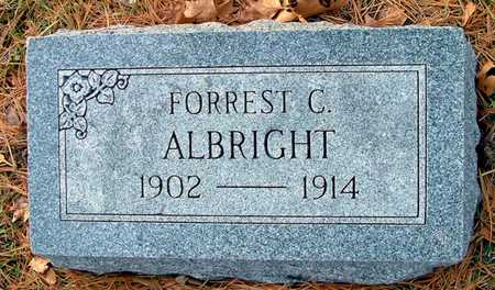 ALBRIGHT, FORREST C - Johnson County, Iowa | FORREST C ALBRIGHT