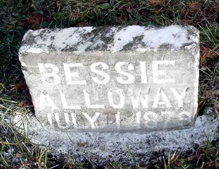 ALLOWAY, BESSIE - Johnson County, Iowa | BESSIE ALLOWAY