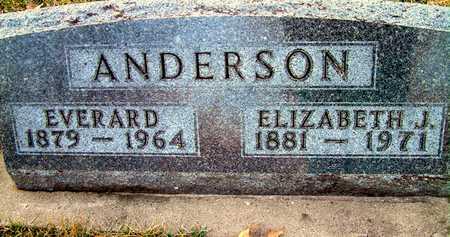 ANDERSON, EVERARD - Johnson County, Iowa | EVERARD ANDERSON