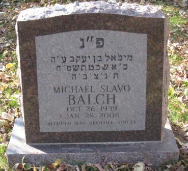BALCH, MICHAEL SLAVO - Johnson County, Iowa | MICHAEL SLAVO BALCH