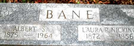 BANE, ALBERT S. - Johnson County, Iowa | ALBERT S. BANE