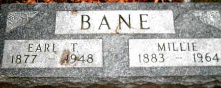 BANE, EARL T. - Johnson County, Iowa | EARL T. BANE