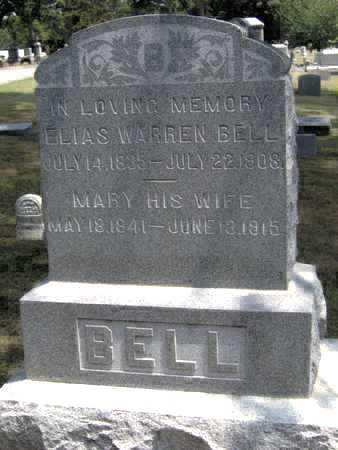 BELL, MARY - Johnson County, Iowa | MARY BELL