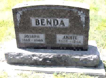 BENDA, JOSEPH - Johnson County, Iowa | JOSEPH BENDA