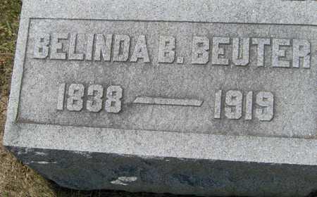 BEUTER, BELINDA B - Johnson County, Iowa   BELINDA B BEUTER