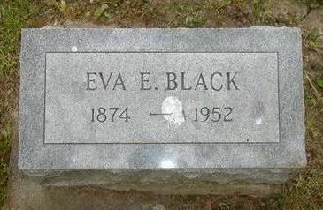 BLACK, EVA E. - Johnson County, Iowa | EVA E. BLACK