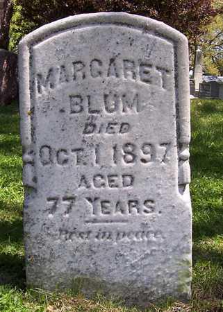 BLUM, MARGARET - Johnson County, Iowa | MARGARET BLUM