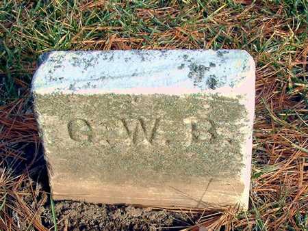 BOWMAN, G. W. - Johnson County, Iowa | G. W. BOWMAN