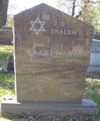 BRAVERMAN, ROSALIE - Johnson County, Iowa | ROSALIE BRAVERMAN