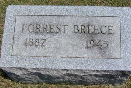 BREECE, FORREST - Johnson County, Iowa | FORREST BREECE