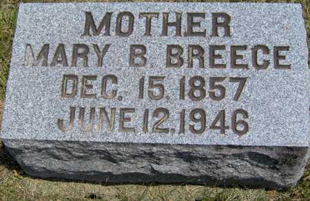 BREECE, MARY B - Johnson County, Iowa | MARY B BREECE