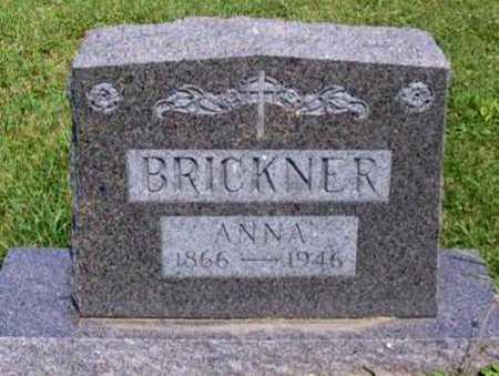 BRICKNER, ANNA - Johnson County, Iowa | ANNA BRICKNER