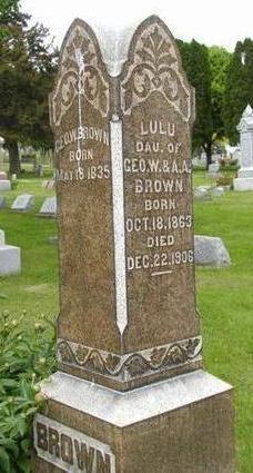 BROWN, LULU - Johnson County, Iowa | LULU BROWN