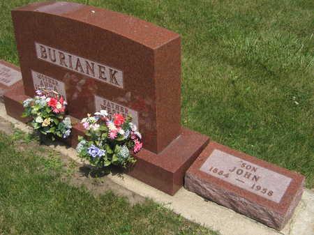 BURIANEK, JOHN - Johnson County, Iowa | JOHN BURIANEK