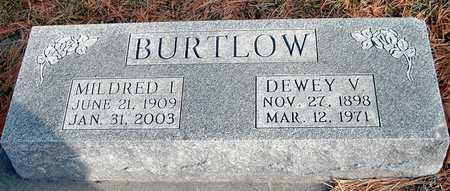 BURTLOW, DEWEY V - Johnson County, Iowa | DEWEY V BURTLOW