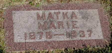 SEDLACEK CEYNAR, MARIE - Johnson County, Iowa | MARIE SEDLACEK CEYNAR