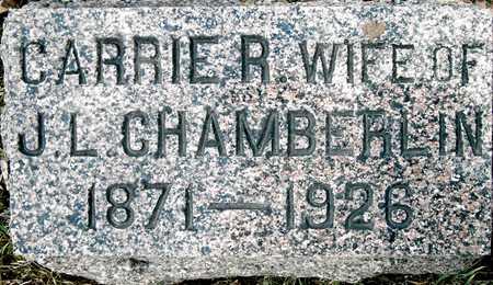 CHAMBERLIN, CARRIE R - Johnson County, Iowa | CARRIE R CHAMBERLIN