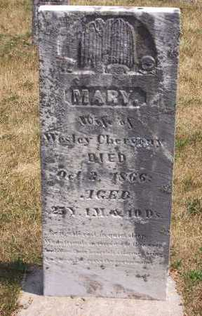 CHERVENY, MARY - Johnson County, Iowa | MARY CHERVENY