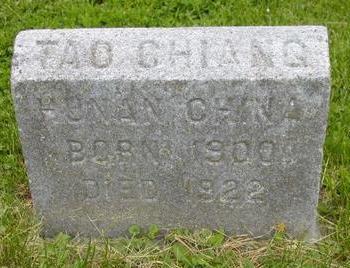 CHIANG, TAO - Johnson County, Iowa | TAO CHIANG